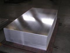 Лист алюминиевый 1 плита  АМг