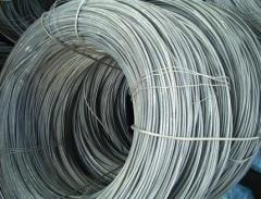 Wire from structural and stainless steel 0,2