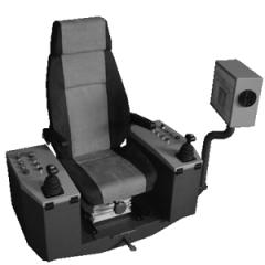 Кресло – пульт управления КПУ 2ПД