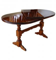 Tables are sliding, the Table 300 x 100 (Oval)