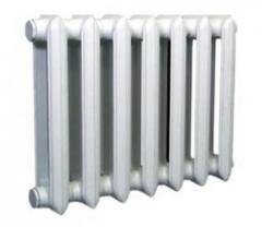 Radiators pig-iron (batteries), sales across