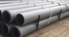 Труба 2 м канализационная ПВХ (поливинилхлорид) с