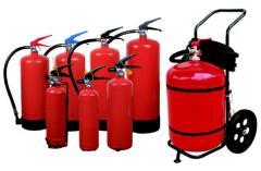 Огнетушители переносные водяные