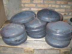 Bottoms elliptic steel