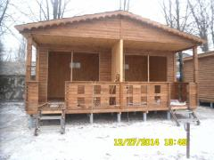 Prefabricated house wooden frame and panel board