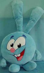 Soft toy pillow Smesharik rabbit Krosh