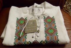 Sorochki-vyshivanki from a homespun cloth, a
