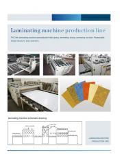 Оборудования для ламинирования плёнка PVC на