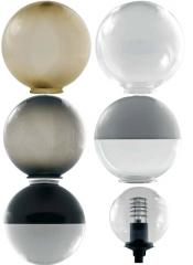 Lamps and plafonds for external lighting