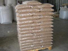 Топливные древесные пеллеты 6мм и 8 мм