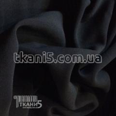 Ткань Кристина однотонный с начесом (черный)