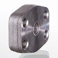 Pressure gauges, CrNi steel, standard type,