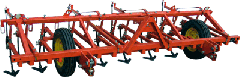 Cultivator soil-cultivating hinged KPS-4PN