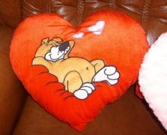 Valentine's Day cards, Soft toys, Pillow