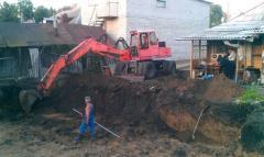 выкопать пруд, почистить озеро, намыв пляжей,