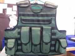 Бронежилет 4 класс (MOLLE) с боковой защитой