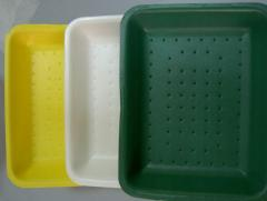 Trays from the made foam polystyrene (VSP Trays)