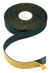 The tape is heat-insulating self-adhesive