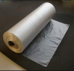 Flexible rolled packaging from polymeric materials
