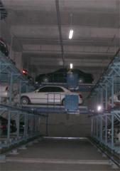 Многоярусный автоматический паркинг - Шатл