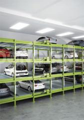 Many-tier automatic parking - Optima