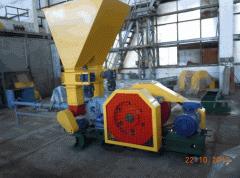 Пресс брикетировочный ПМБ-76 для изготовления