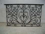 Кованая балконная решетка