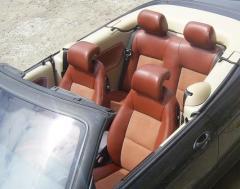 Перетяжка салона авто (сидений, торпедо, рулей,