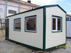 Edifícios e alojamentos de armazenamento