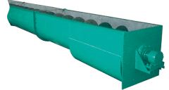 Conveyor screw KVN(G)-700 (Ø 700 of mm, mm L-600).