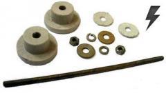 Кріплення для резисторів З5-36В, З5-35В, Пе, ПеВ,