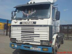 Scania R113M truck tractor, release of 1994, full