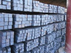 Square steel billets; carbon & low-alloy