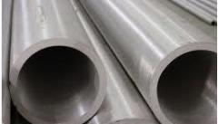 Pipes seamless of stainless steel