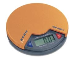 Pocket scales of KERN TCE 200-1