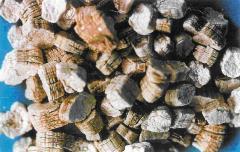 Vermiculite vspuchenny heat-insulating