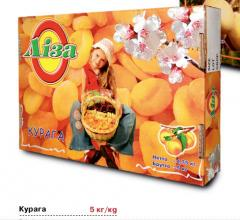 "Dried apricots of ""LIZA"""