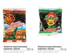 Sunflower seeds fried in assortment of TM