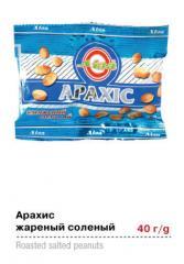 """Арахис соленый, жаренный (3*30), ТМ """"Liza"""""""