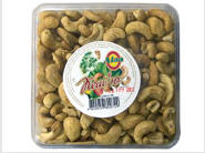 The cashew which is packed up dried TM