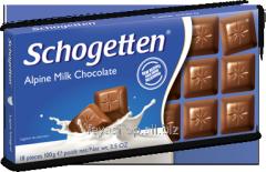 Шоколад SCHOGETTEN в ассорт., 100г