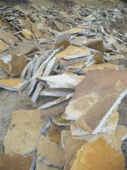 Плитняк из ямпольского песчаника