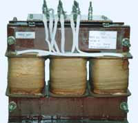 TSP and TSPZ three-phase dry transformers