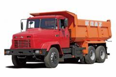 KRAZ C18.0 dump truck