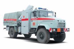 Специальный автомобиль КрАЗ-5233ВЕ