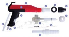 Powder paint sprayer