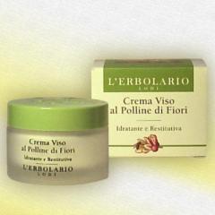 Lerbolario face Cream with flower pollen, 50 ml