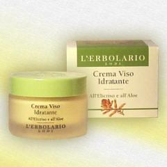 Lerbolario the Moisturizing face cream, 50 ml
