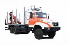 KRAZ M16.1X timber carrying vessel
