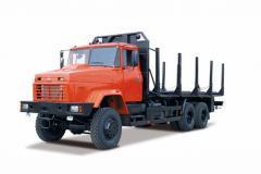 Forest KRAZ-6233M6 equipmen